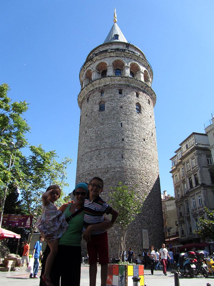 La torre Gálata en Estambul, Turquía.