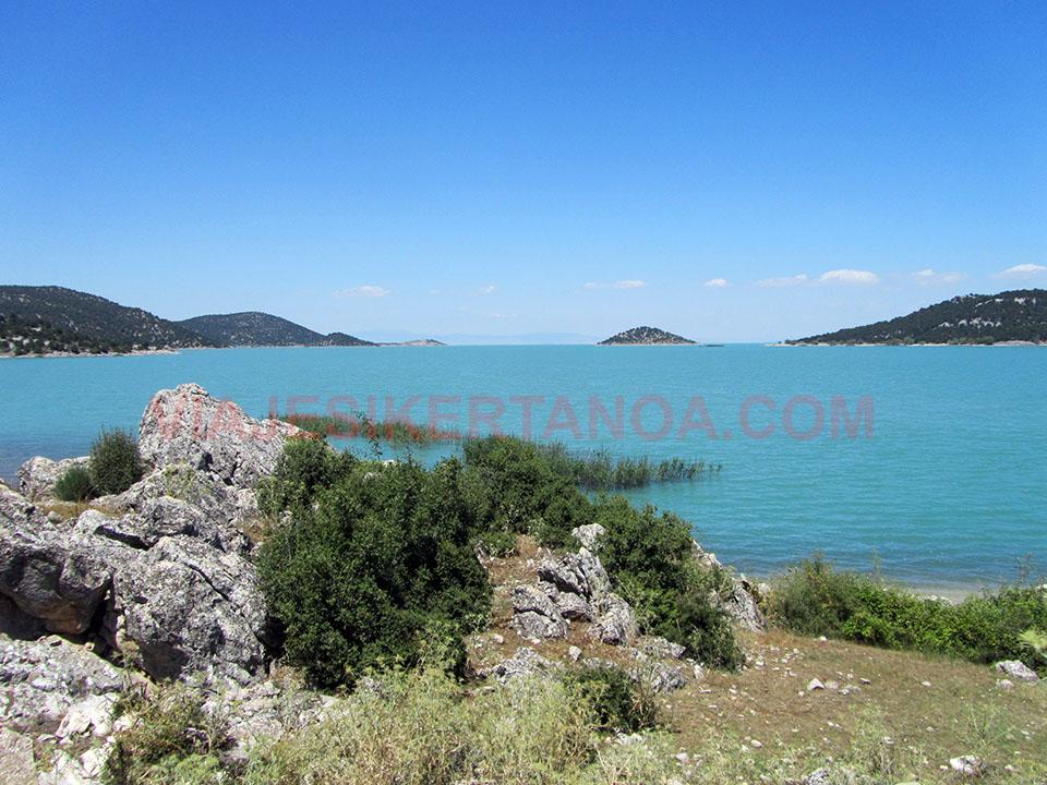 Lago Beysehir en Turquía.