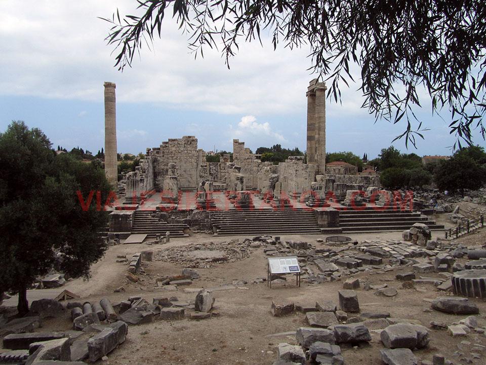 Las ruinas de Didima en Turquía.