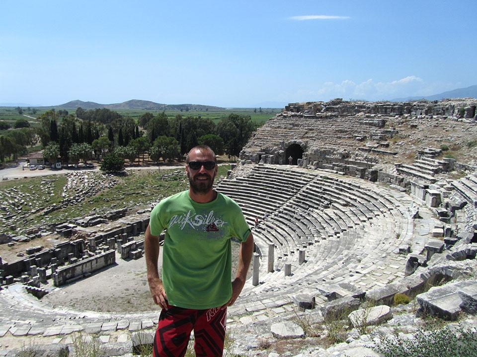 Las ruinas de Mileto en Turquía