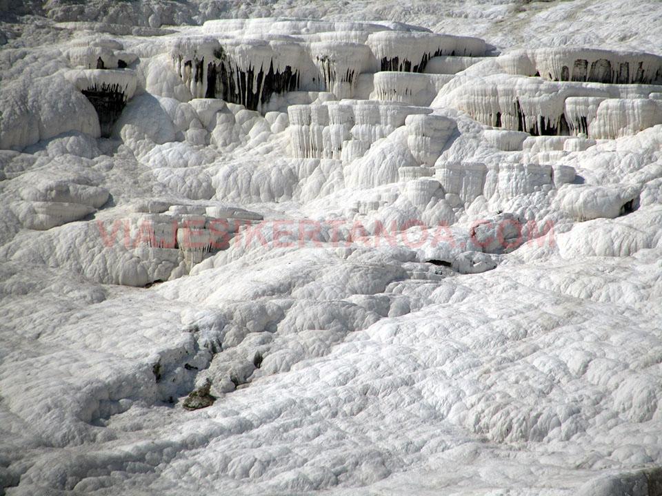 Las terrazas de Pamukkale en Turquía.
