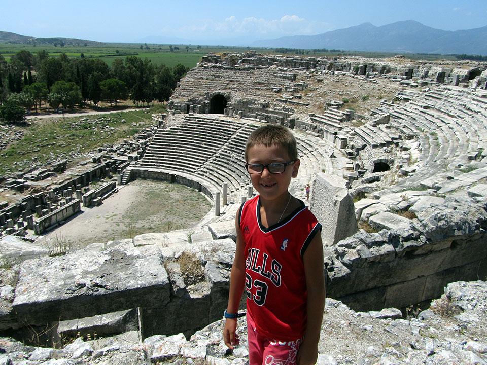 Mileto en Turquía.