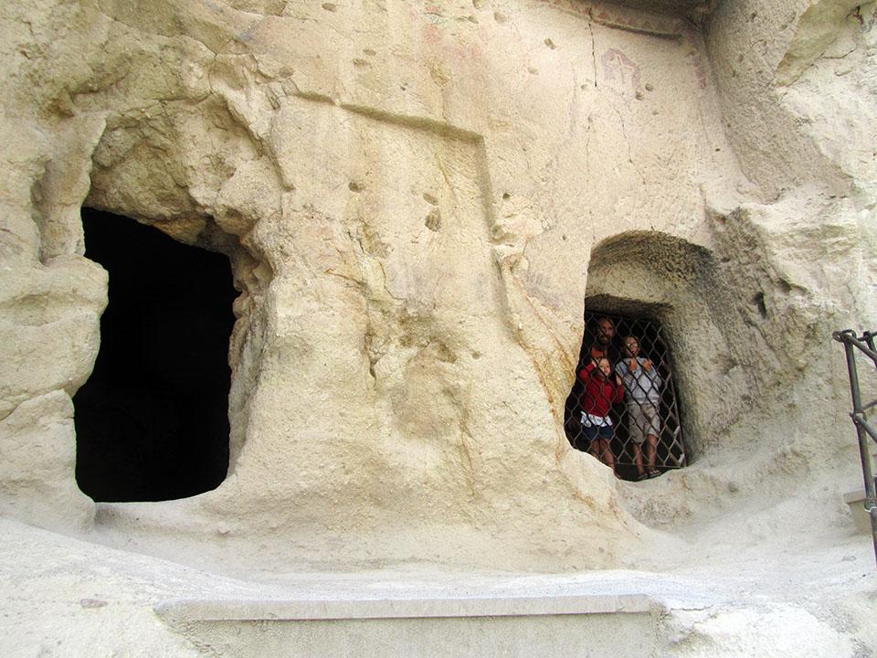Museo al aire libre de Göreme en la Capadocia, Turquía