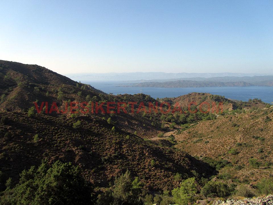 Peninsula de Datca en Turquía