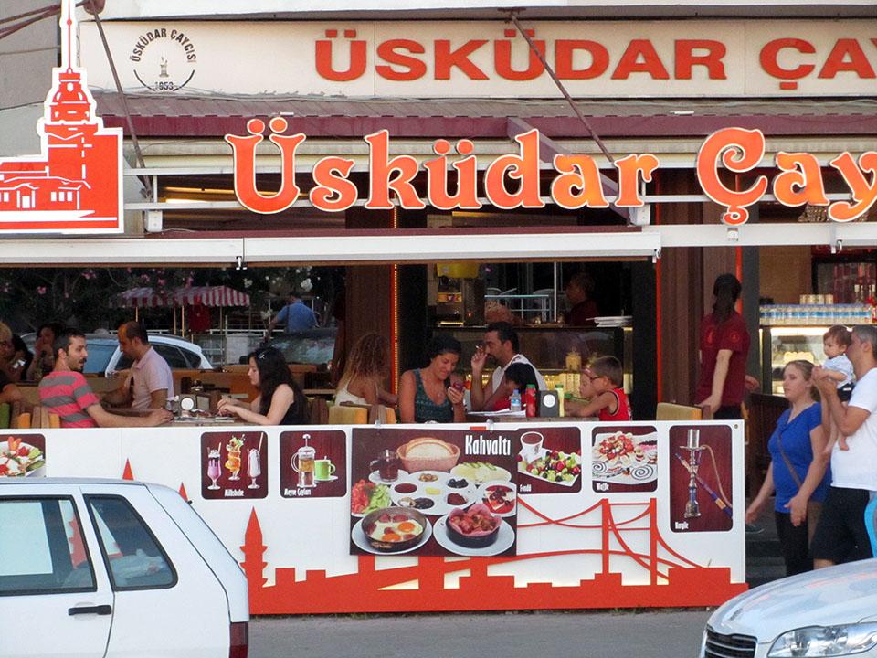 Restaurante en Kusadasi, Turquía