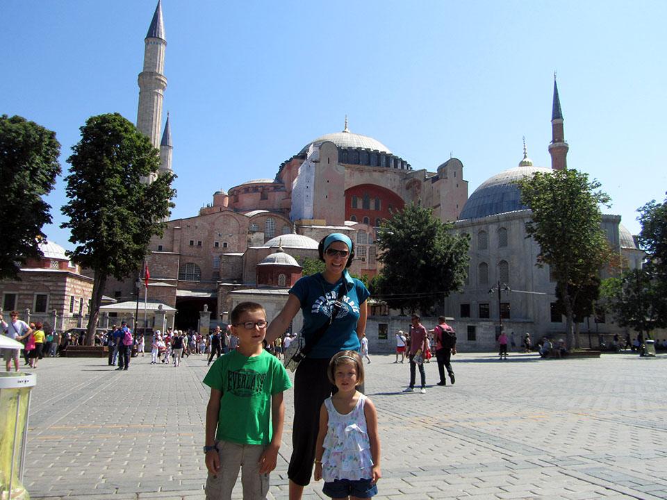 Santa Sofía en Estambul, Turquía.