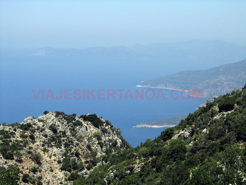Valle de la Mariposa y Faralya en Turquía.