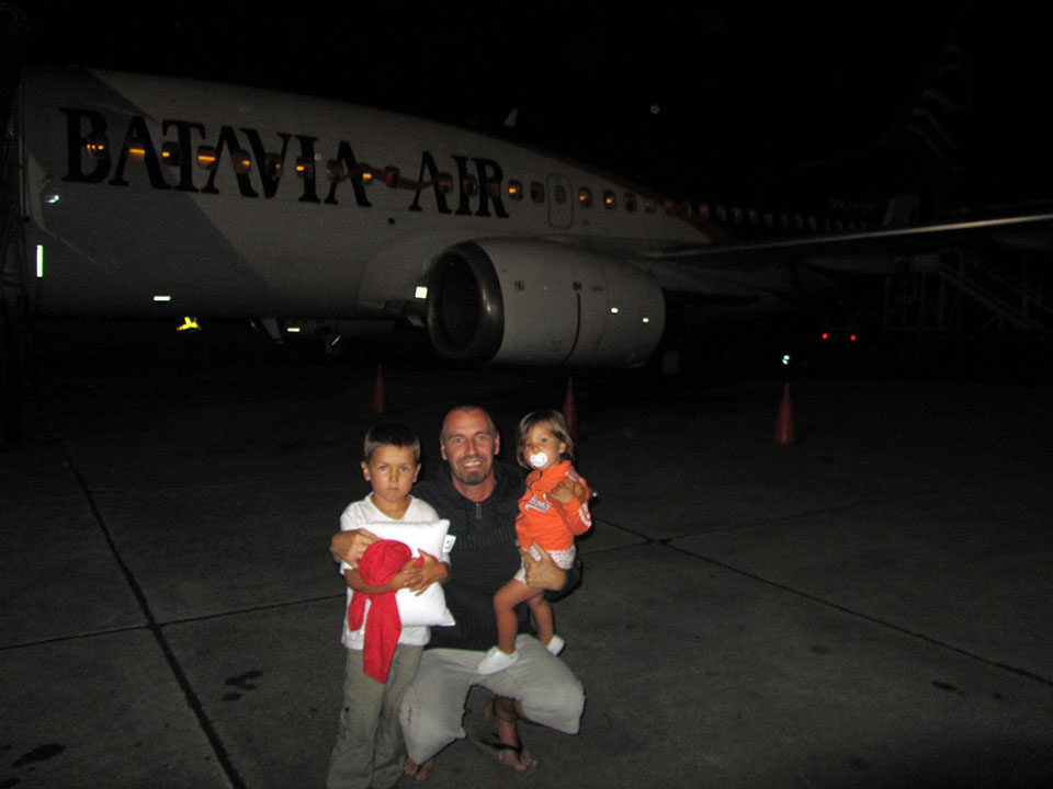 Aeropuerto de Yogyakarta en Indonesia