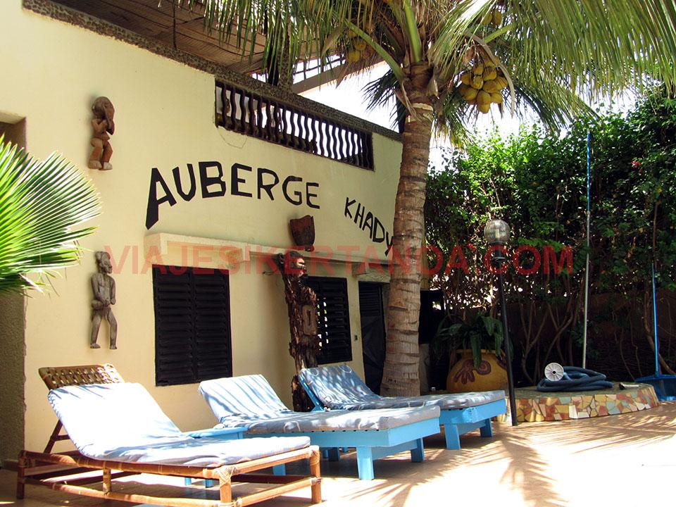 Uno de los mejores alojamientos en Senegal.