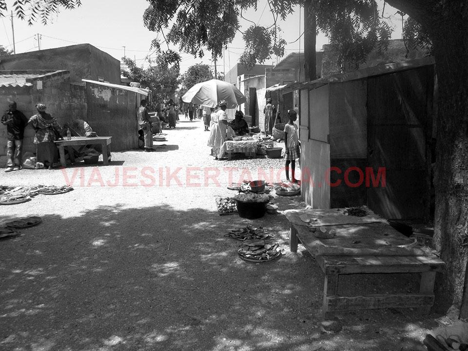 Calles de Joal - Fadiouth en Senegal