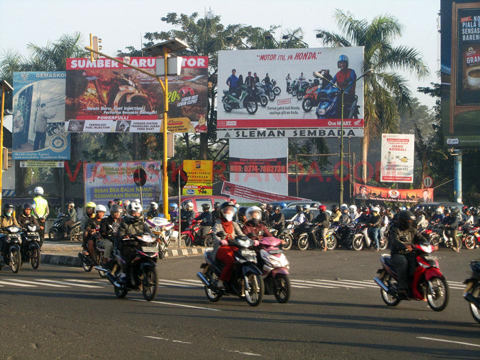Camino hacia Borobudur