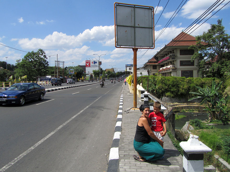Carrefour en Yogyakarta, Indonesia
