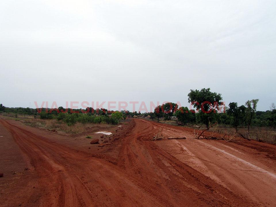 Carretera hasta Kédougou en Senegal