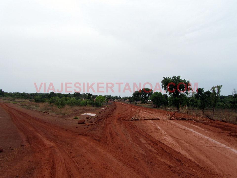 Carretera de Senegal.