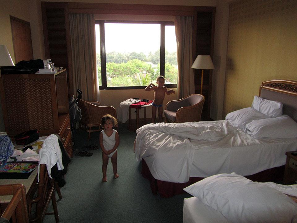 Habitación del Grand Quality Hotel en Yogyakarta, Indonesia
