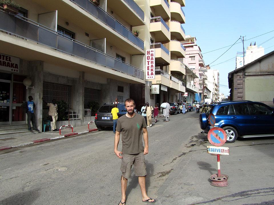 Hotel Al Baraka en Dakar, Senegal