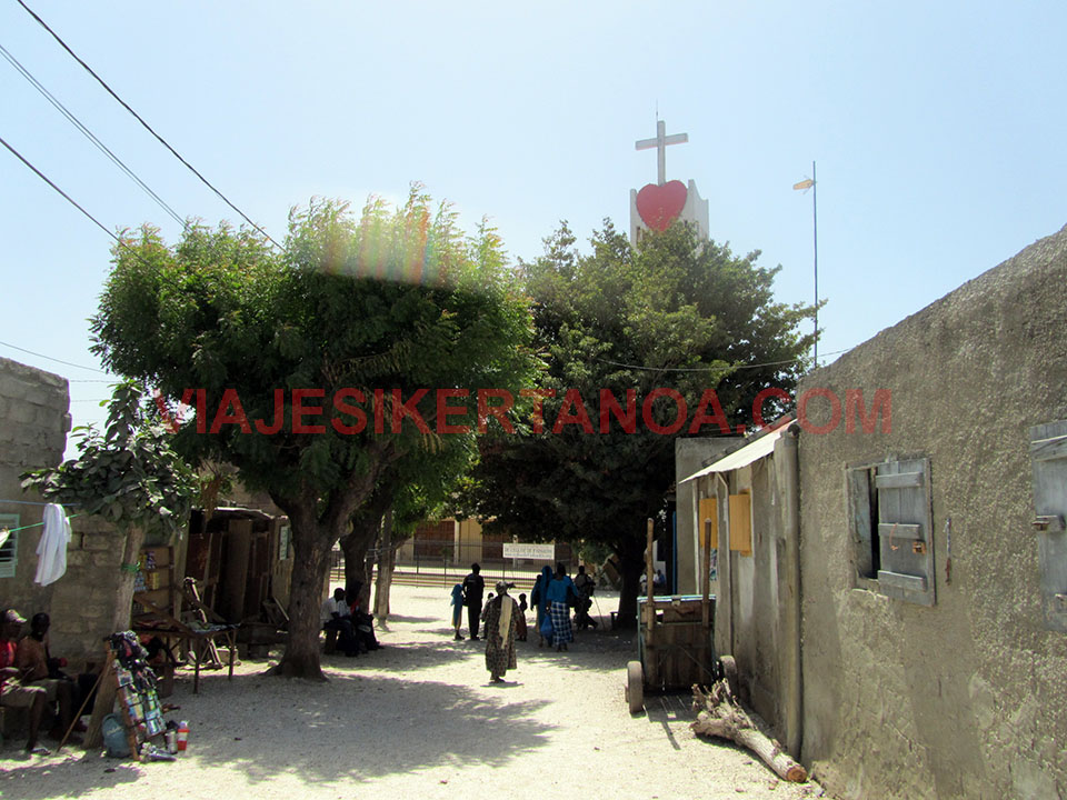 Iglesia de Joal - Fadiouth en Senegal