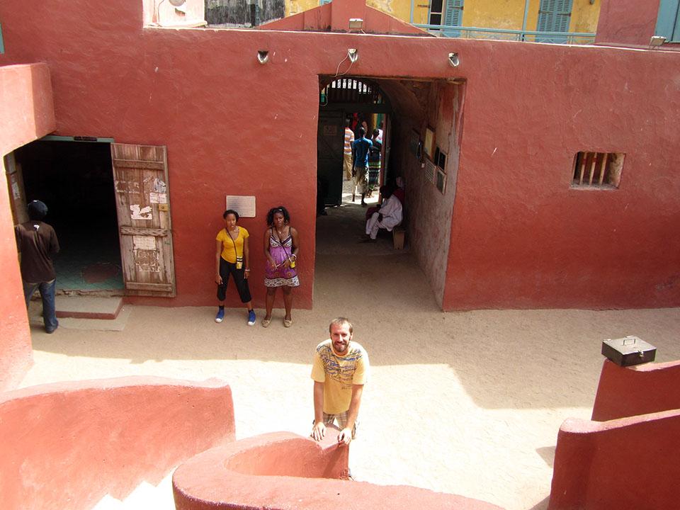Isla de Gorée en Dakar, Senegal.