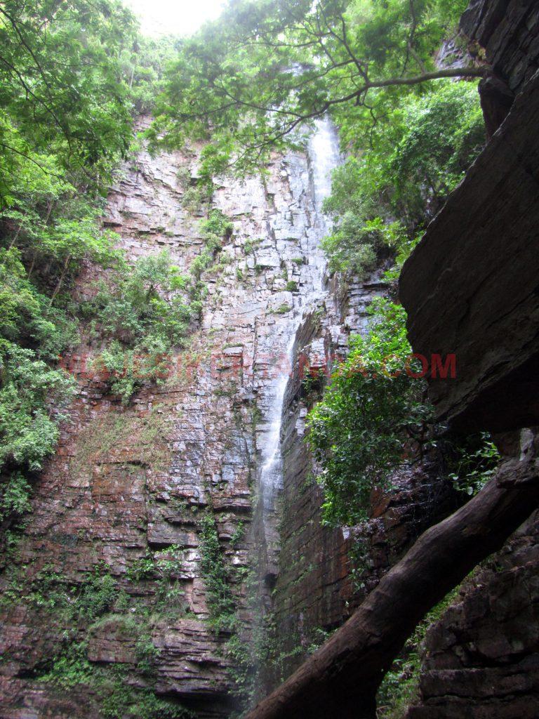 La cascada de Dindéfelo con más de 100 metros de altura en Senegal