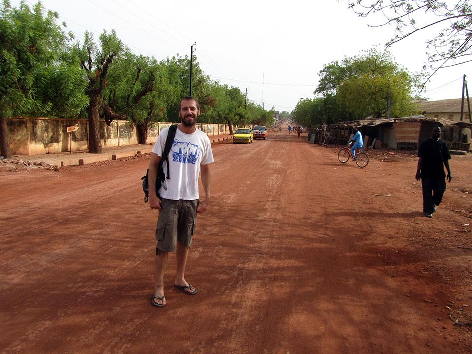 La ciudad de Tambacounda en Senegal