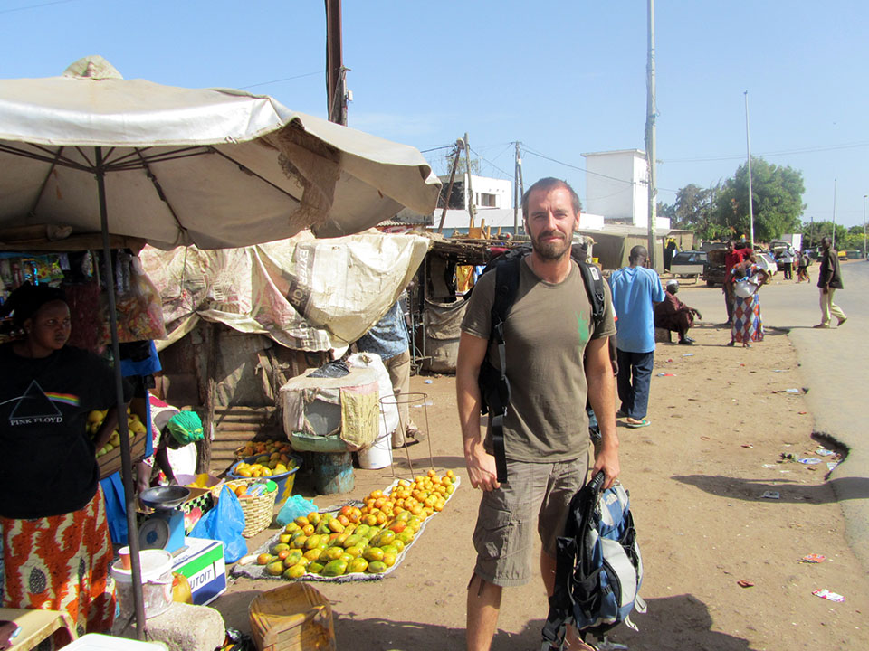 Mercado en Joal - Fadioutth, Senegal