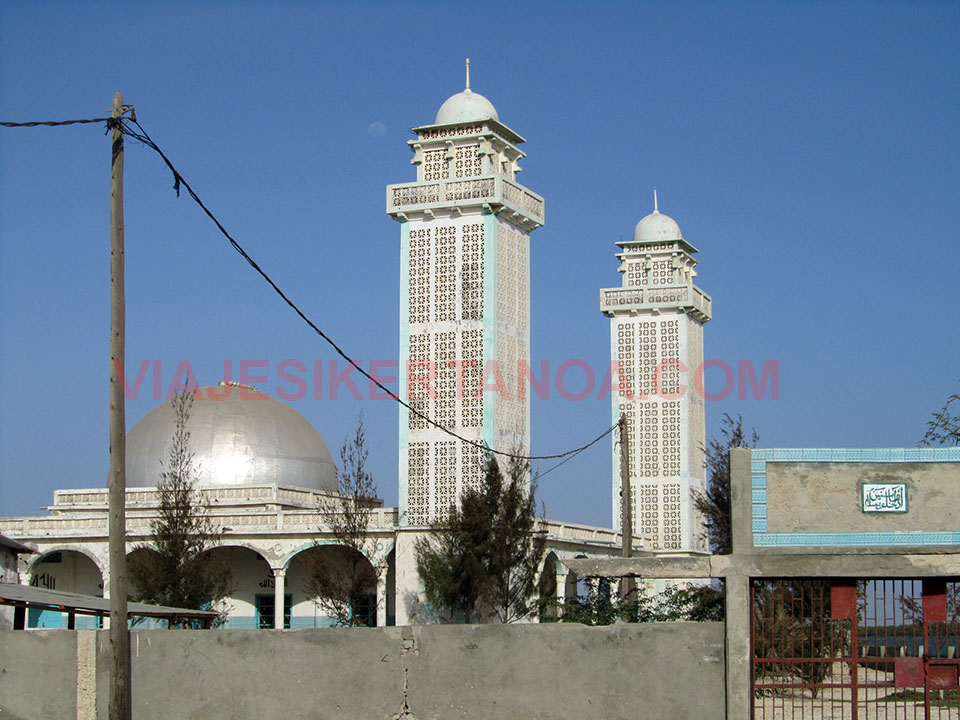 Mezquita en Joal - Fadiouth, Senegal