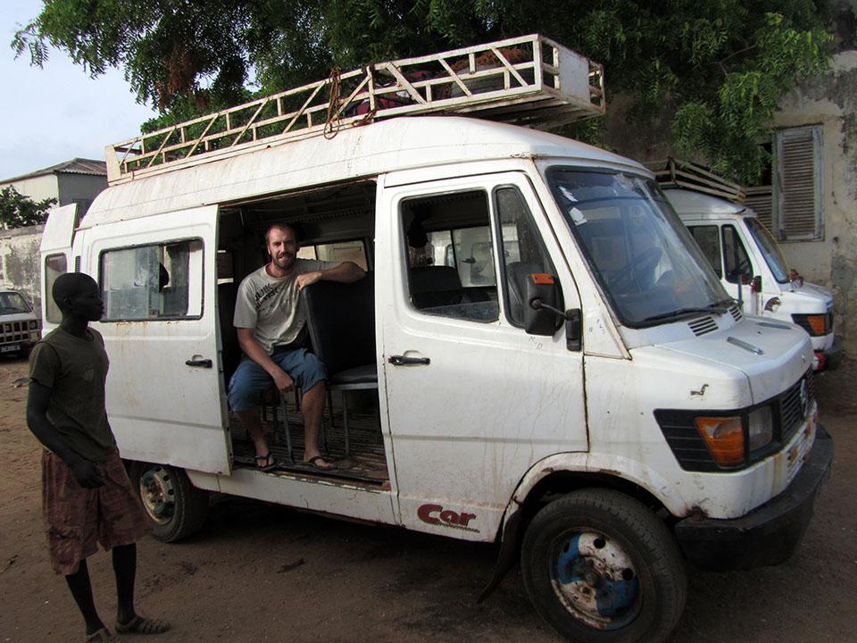 Ndiaga ndiaye hasta Palmarín en Senegal