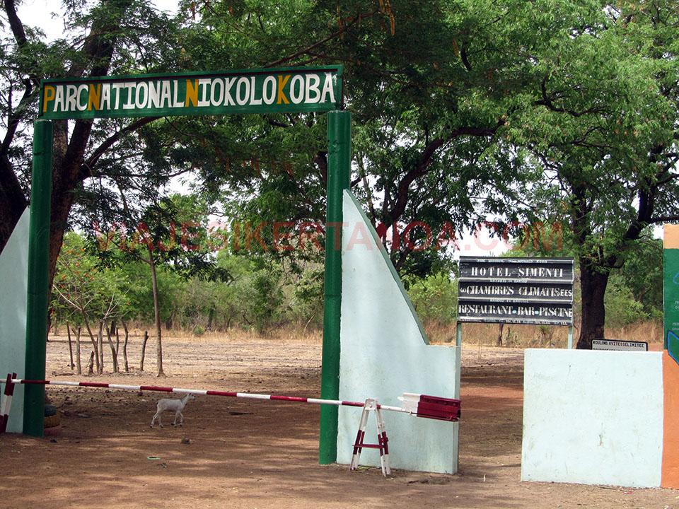 Parque nacional Niokolo Koba en Senegal.