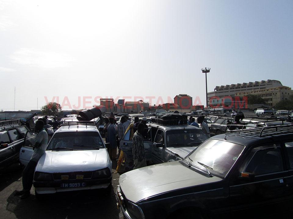 Sept place hasta Mbour en Senegal.