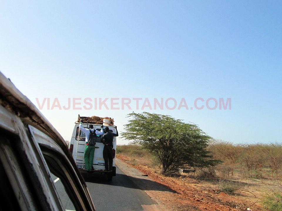 Transporte alternativo en Senegal