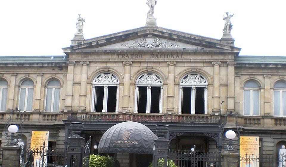 Teatro Nacional de San José en Costa Rica