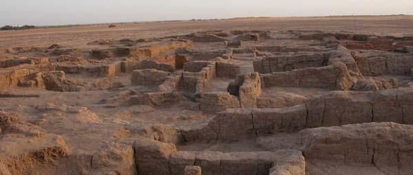 Vista general del asentamiento de Ain Asil