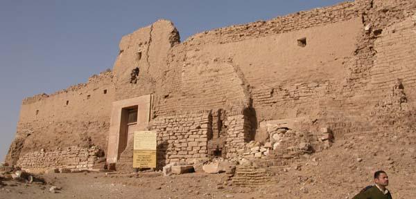 Vista general de la fortaleza de Qasr al Ghueita