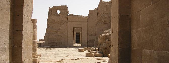 Dush (Kysis) en Oasis de Kharga - Viajes a Egipto