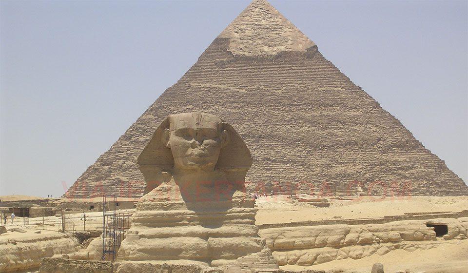 Esfinge de Giza en Egipto
