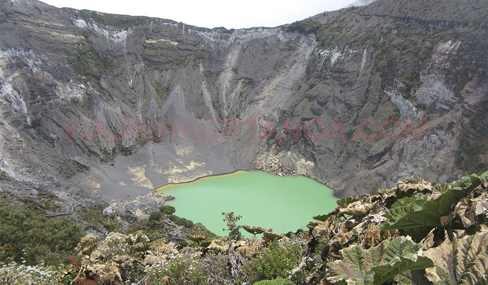 Volcán Irazú en Costa Rica