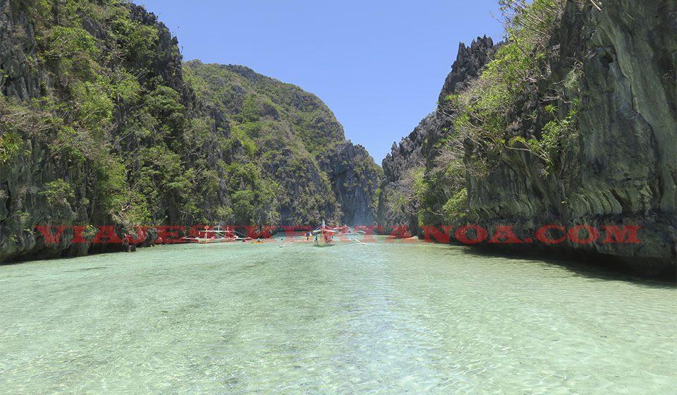 Island hopping en El Nido, Filipinas