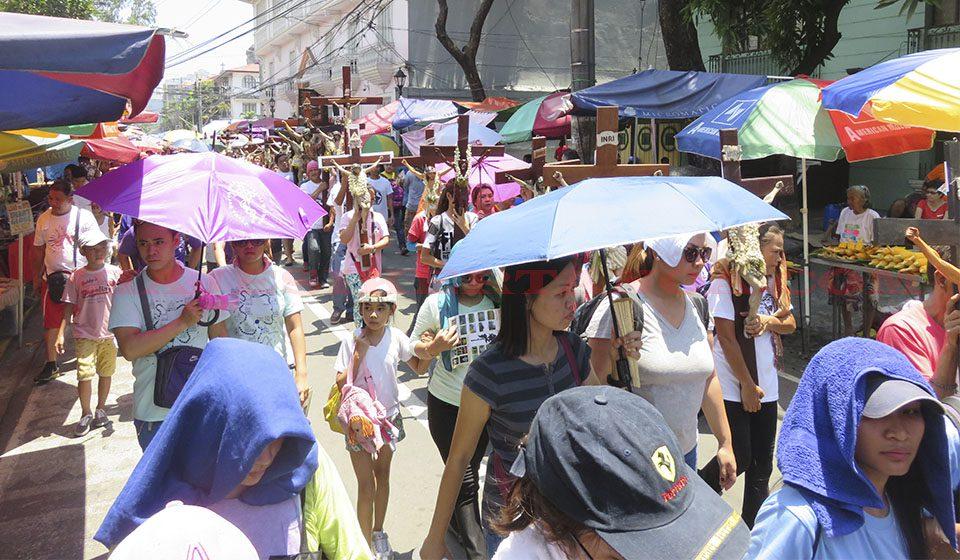 Semana santa en Manila, Filipinas