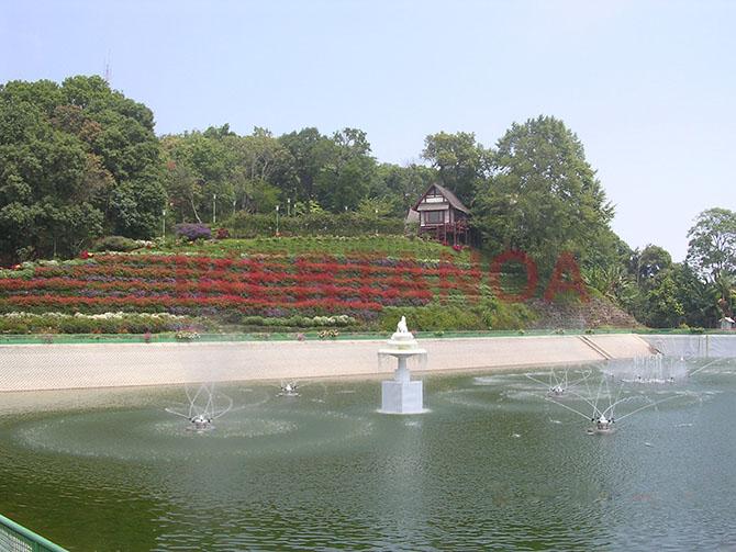 Los jardines del Phra Tamnak Phu