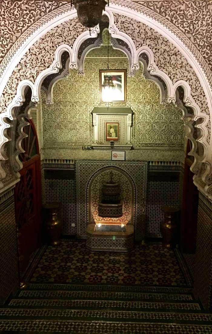 Restaurante Dar Essalan en Marrakech, Marruecos. Viajes a Marruecos con Viajes Ikertanoa, todo el asesoramiento y la información necesaria para viajar independiente y diferente.