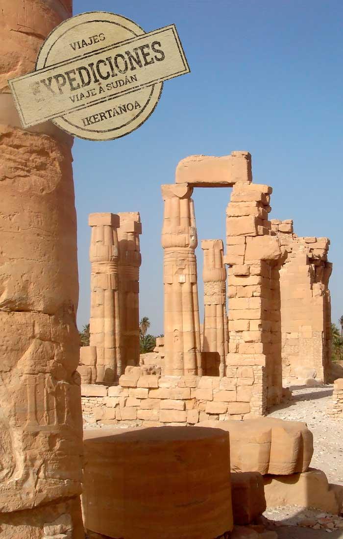 Viajes a Sudán, Grandes Expediciones.