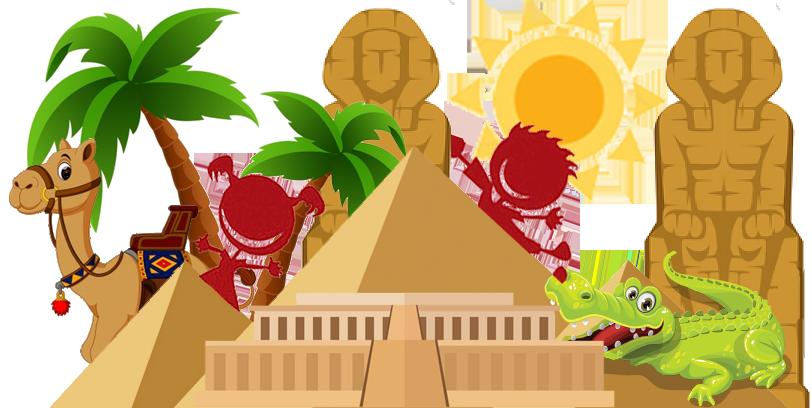 Niños de Viajes Ikertanoa en su primer Viaje a Egipto. Viajes a Egipto con Viajes Ikertanoa.