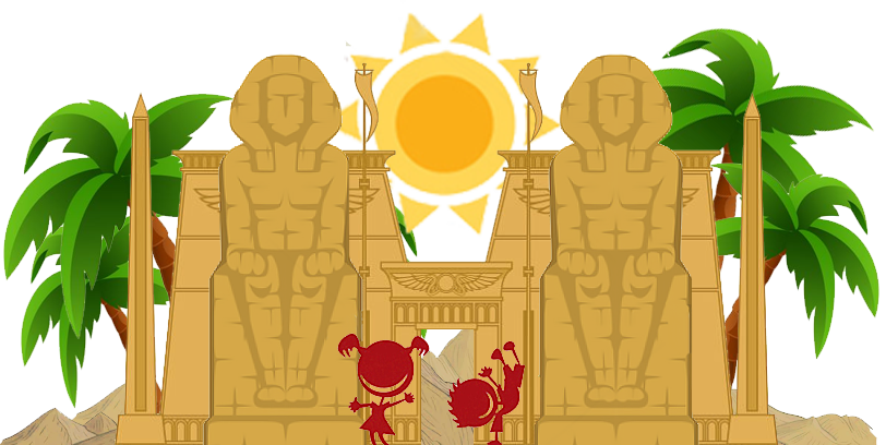 Niños de Viajes Ikertanoa en su primer Viaje Arqueológico a Egipto. Viajes Arqueológicos a Egipto con Viajes Ikertanoa.