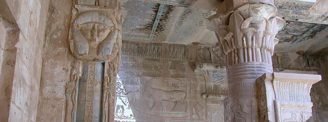 Templo de Hathor de Deir el Medina en Luxor