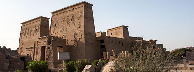 Templo de Isis en Philae, Aswan. Viaje a Egipto con Viajes Ikertanoa.