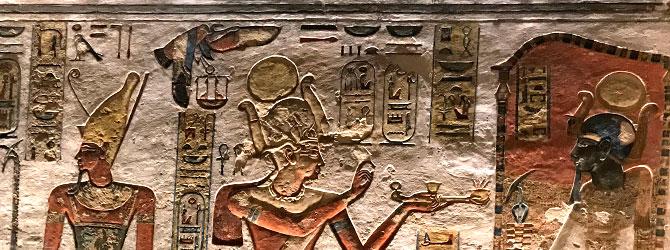 Tumba de Ramses III, Valle de los Reyes, Luxor. Viaje a Egipto con Viajes Ikertanoa.