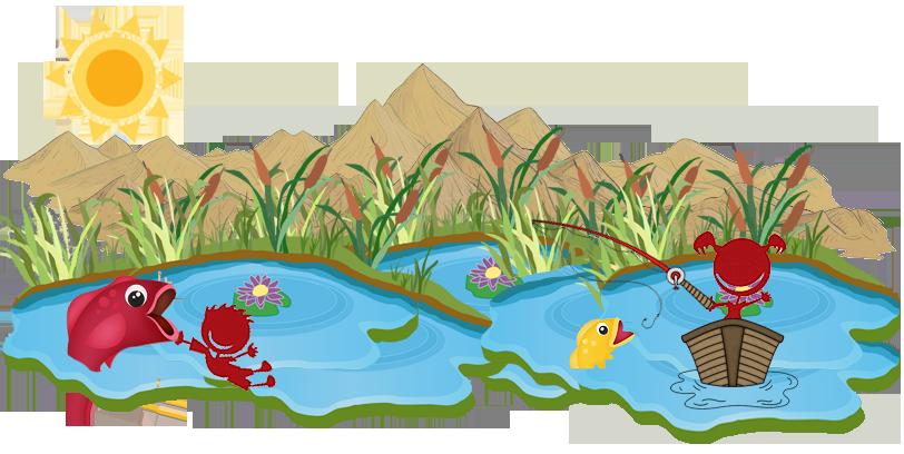 Niños de Viajes Ikertanoa pescando.