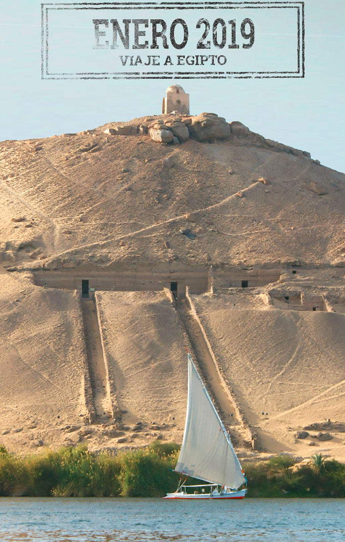 Viaje a Egipto en Enero 2019. Viajes Ikertanoa.