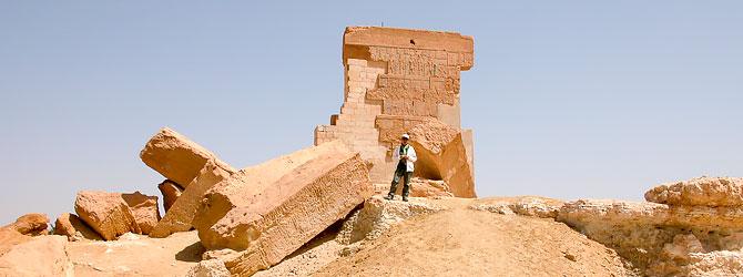 Templo de Umm Ubayda dedicado a Amon en el Oasis de Siwa.